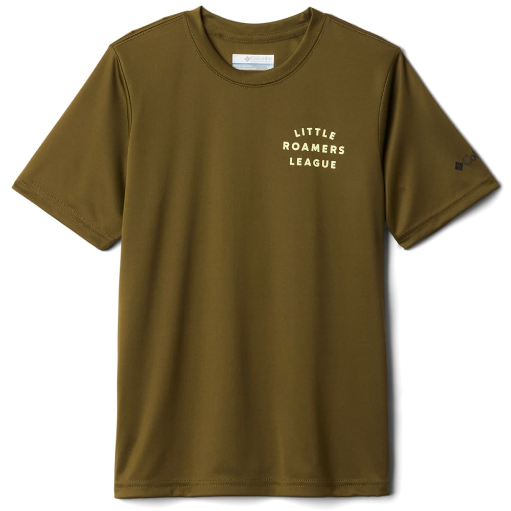 COLUMBIA Boys' Grizzly Grove Short Sleeve Graphic Tee S