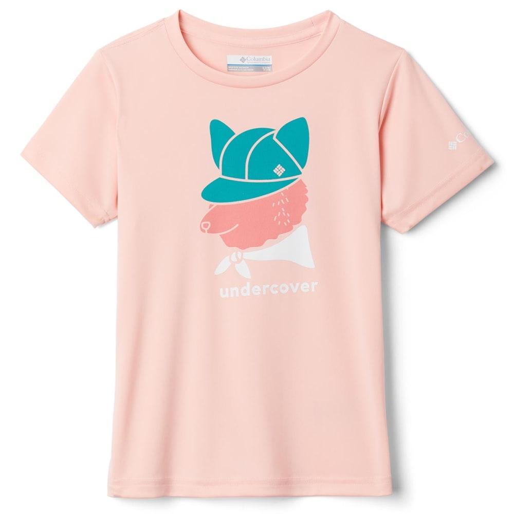 COLUMBIA Girls' Petit Pond Short Sleeve Graphic Tee S