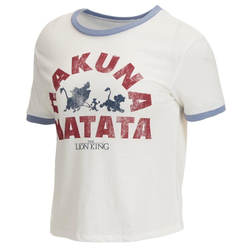 DISNEY Hakuna Matata Juniors' Short Sleeve Graphic Tee XS