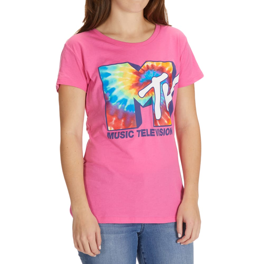 MTV Juniors' Short Sleeve Graphic Tee XS