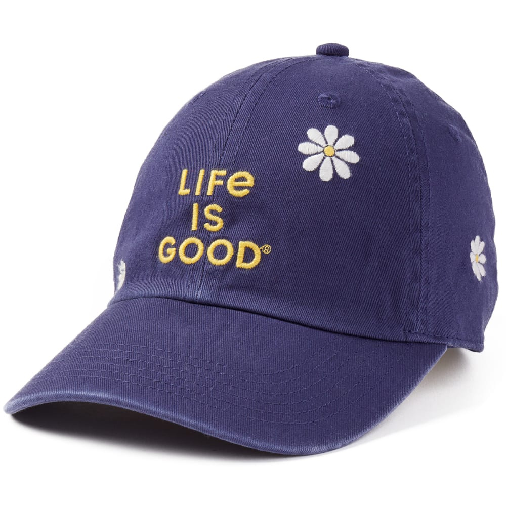 LIFE IS GOOD Women's Daisy Stack Chill Cap ONE SIZE