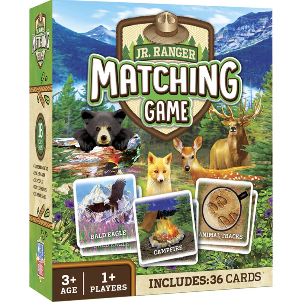 MASTERPIECES PUZZLE CO. Jr. Ranger Matching Game NO SIZE