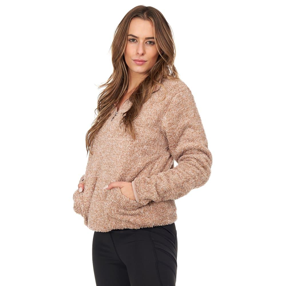 BSP Women's Sherpa Fleece 1/4-Zip Pullover S