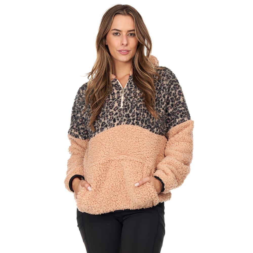 BSP Women's Sherpa Fleece 1/4-Zip Pullover M