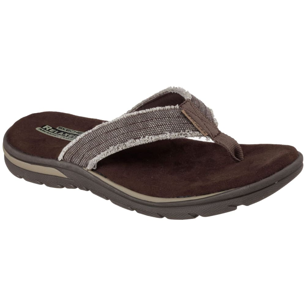 SKECHERS Men's Relaxed Fit Supreme Bosnia Sandals 10
