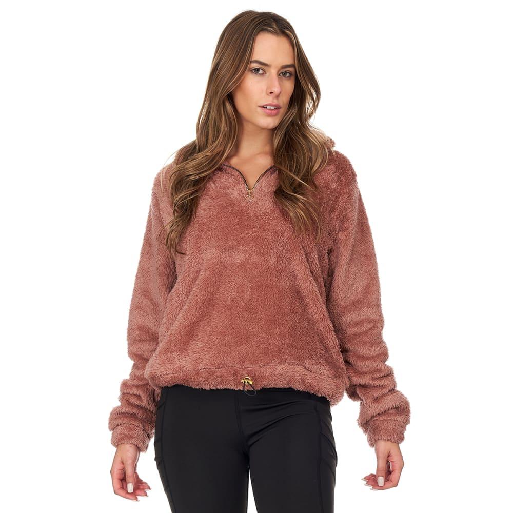 BSP Women's 1/4-Zip Fleece Pullover S
