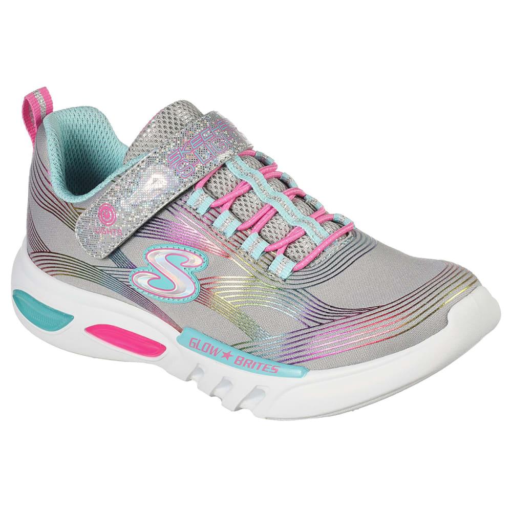 SKECHERS Girls' S Lights: Glow-Brites Sneakers 1