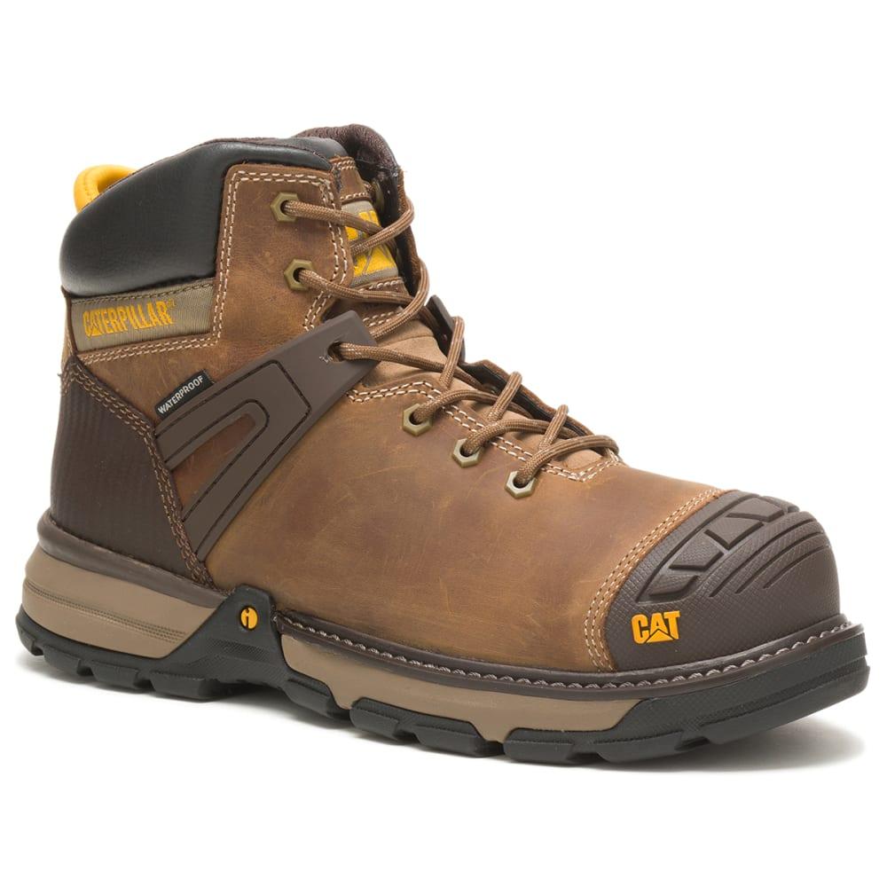 CAT Men's Excavator Superlite Waterproof Soft Toe Work Boot 8