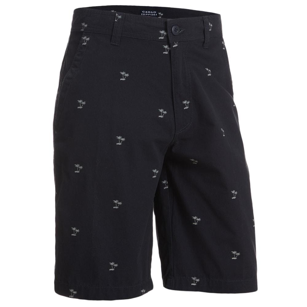 CARGO SUPPLIES Men's Flat Front Shorts 40
