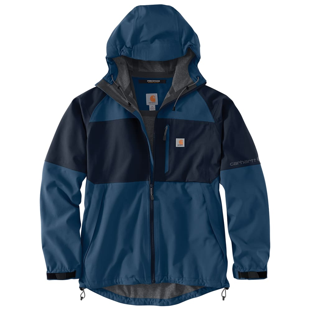 CARHARTT Men's Storm Defender Force Midweight Hooded Jacket, Extended Sizes 3XL