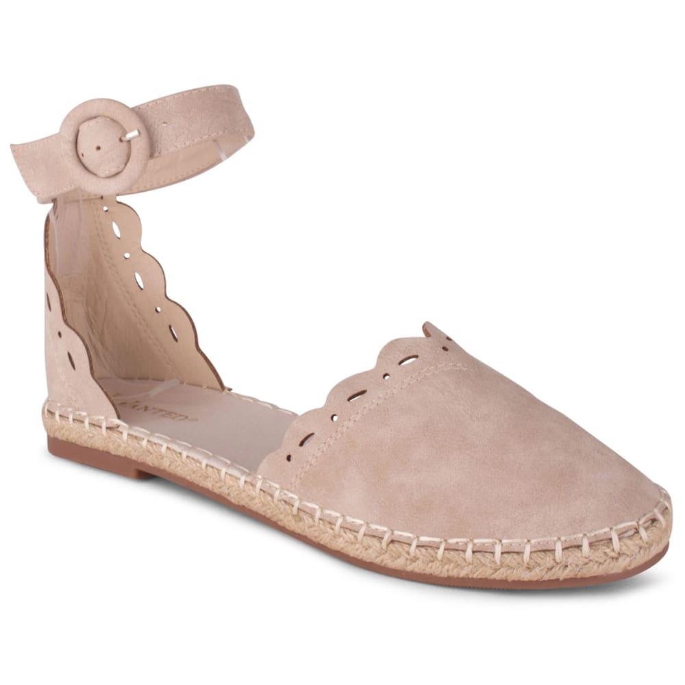 WANTED SHOES Women's Kensington Espadrille Shoe 6