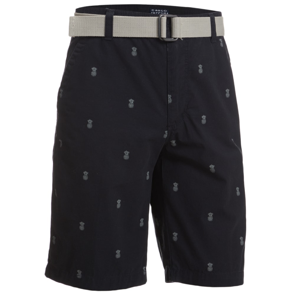 CARGO SUPPLIES Men's Flat Front Shorts 30