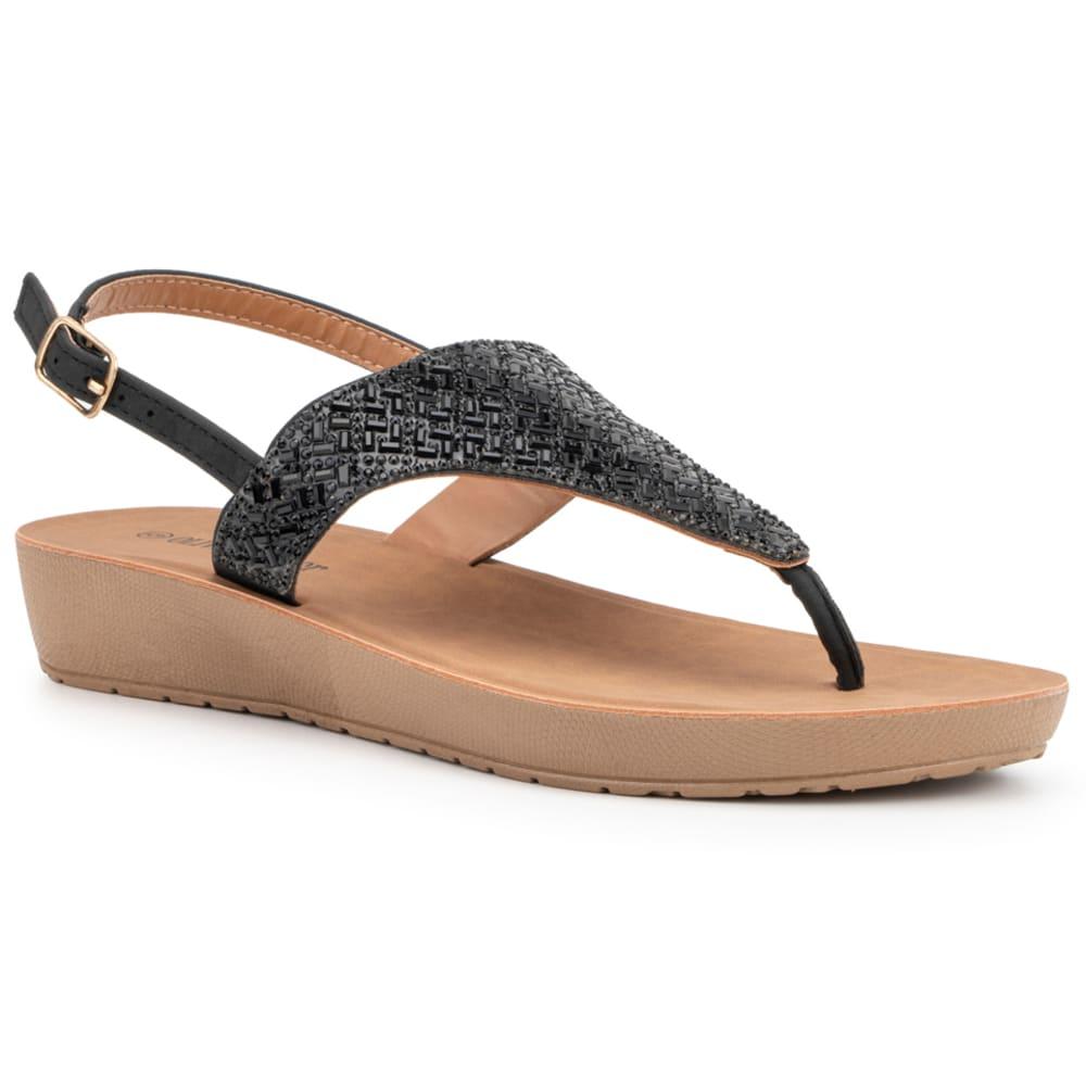 OLIVIA MILLER Women's Beaded Sandal 6