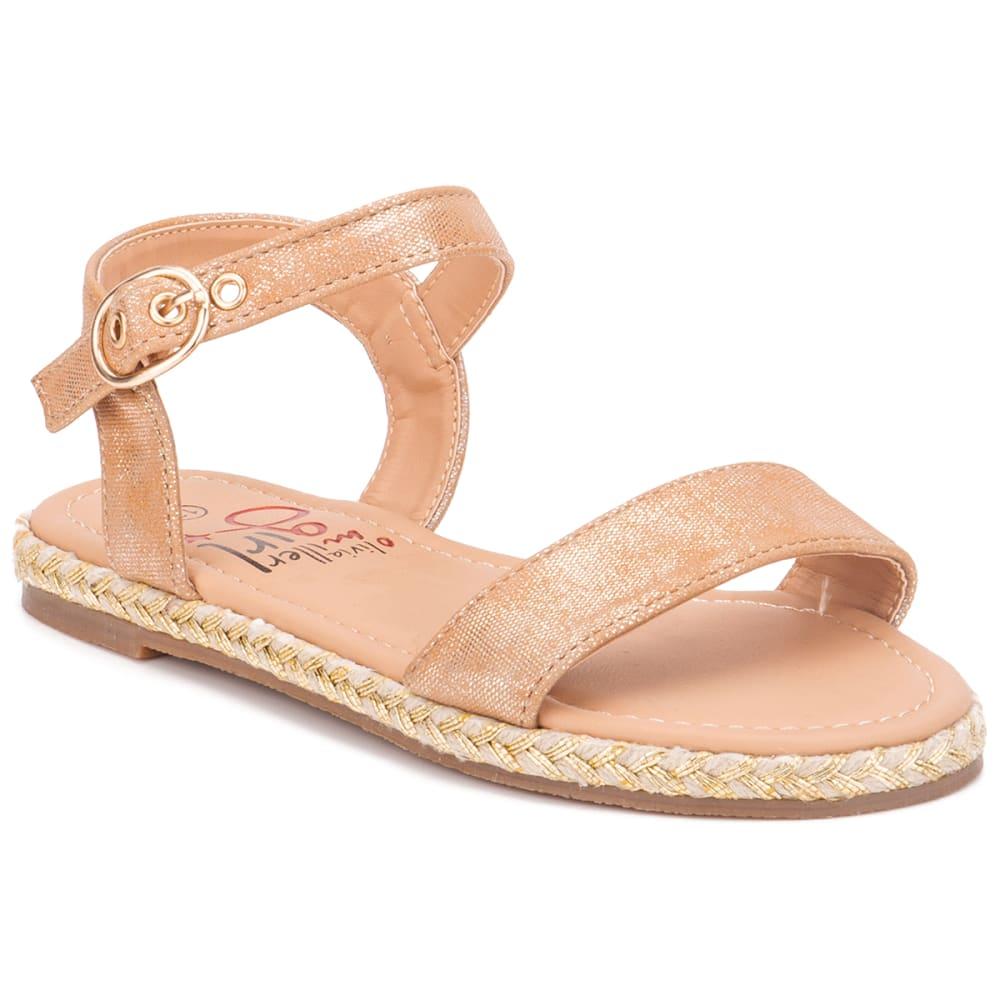 OLIVIA MILLER Girls' Raffia Sandal 1