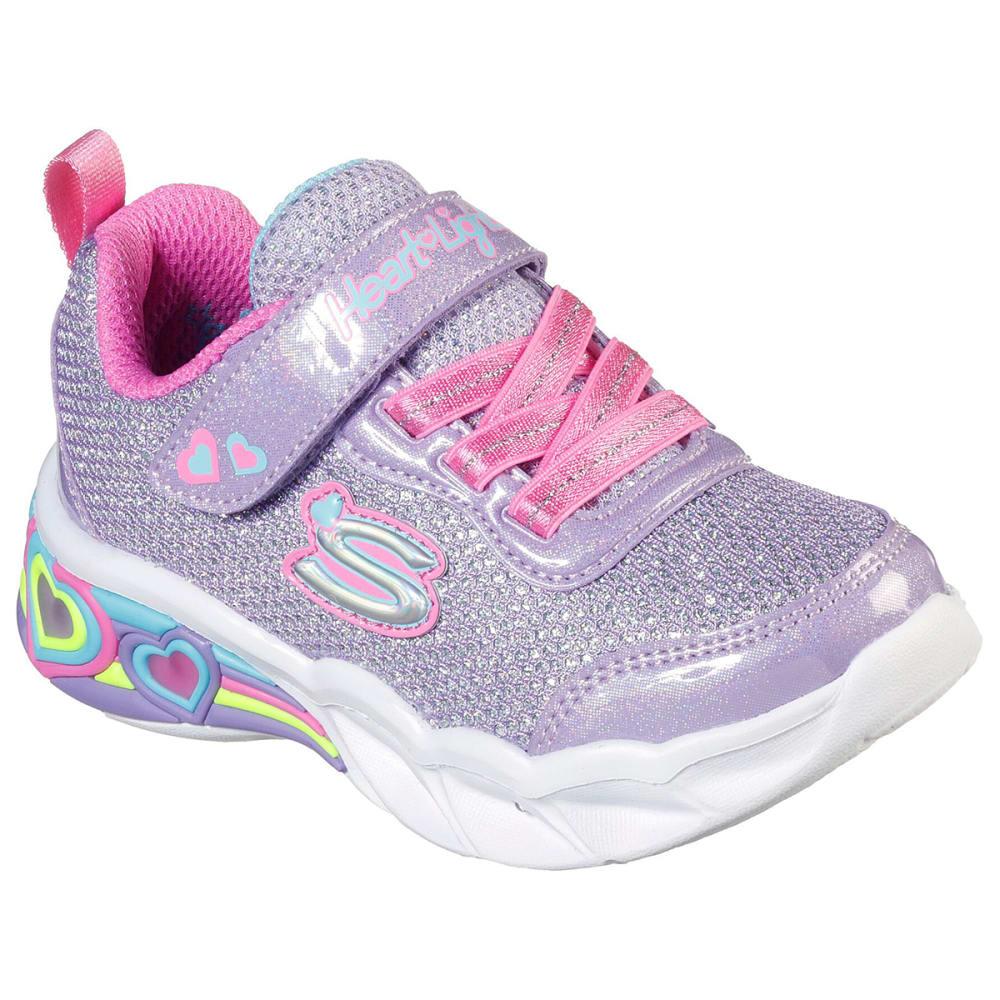 SKECHERS Infant/Toddler Girls' Sport Lighted - Sweetheart Lights Sneaker 5