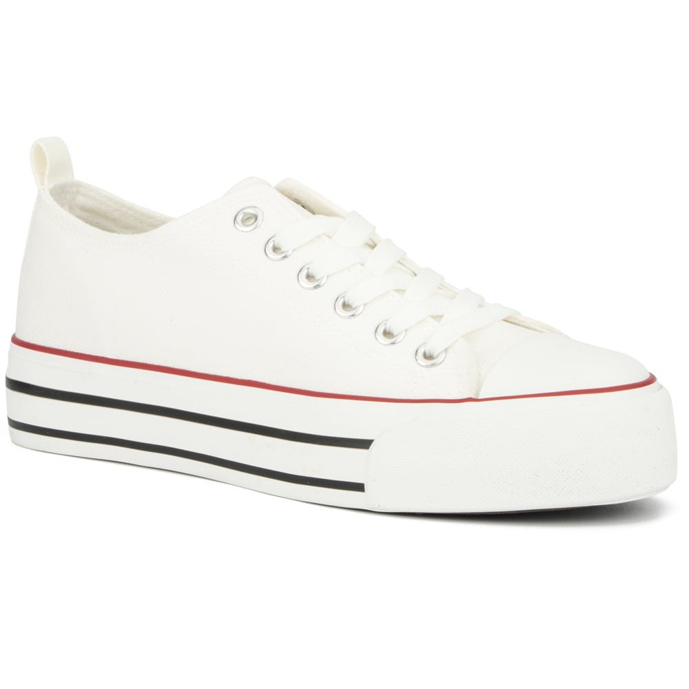 OLIVIA MILLER Women's Kaliko Platform Sneaker 6