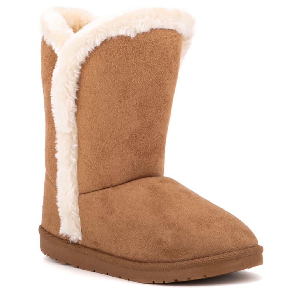 OLIVIA MILLER Women's Faux Shearling Winter Boots 6