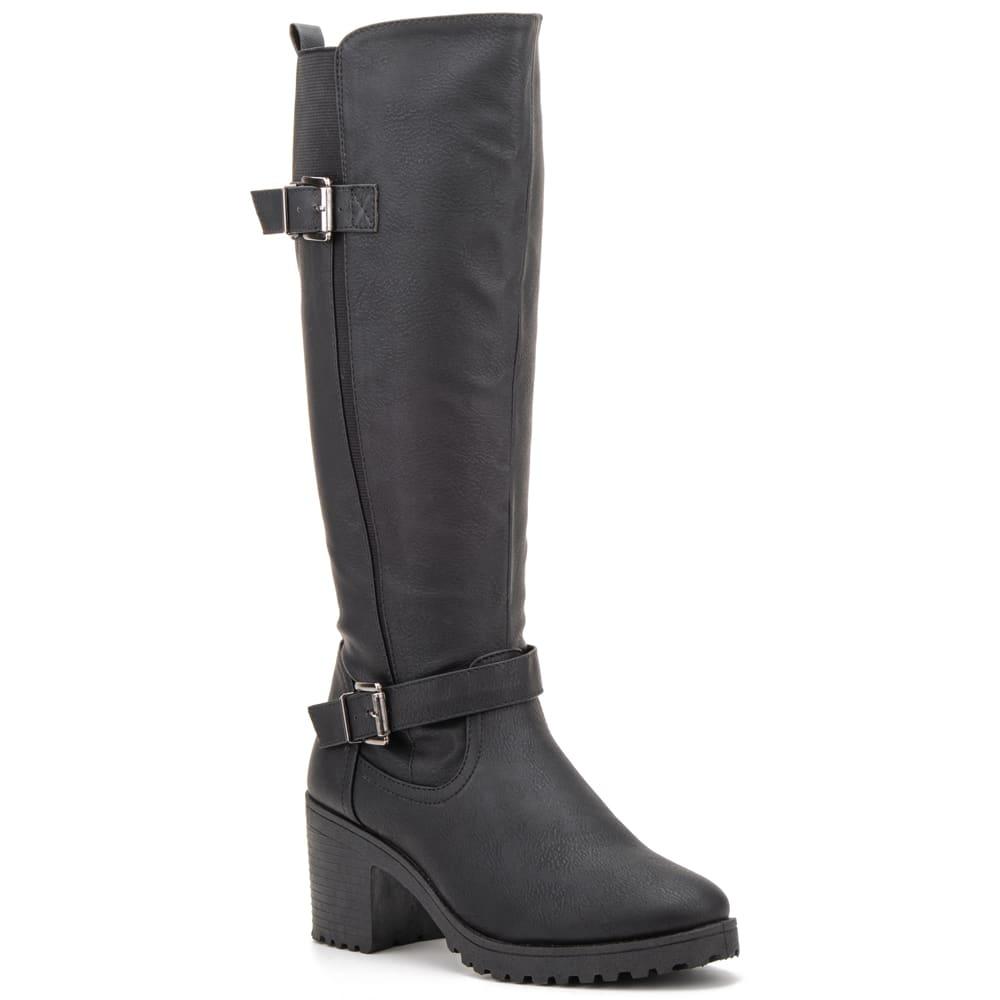 OLIVIA MILLER Women's Ellie Block Heel Boots 6