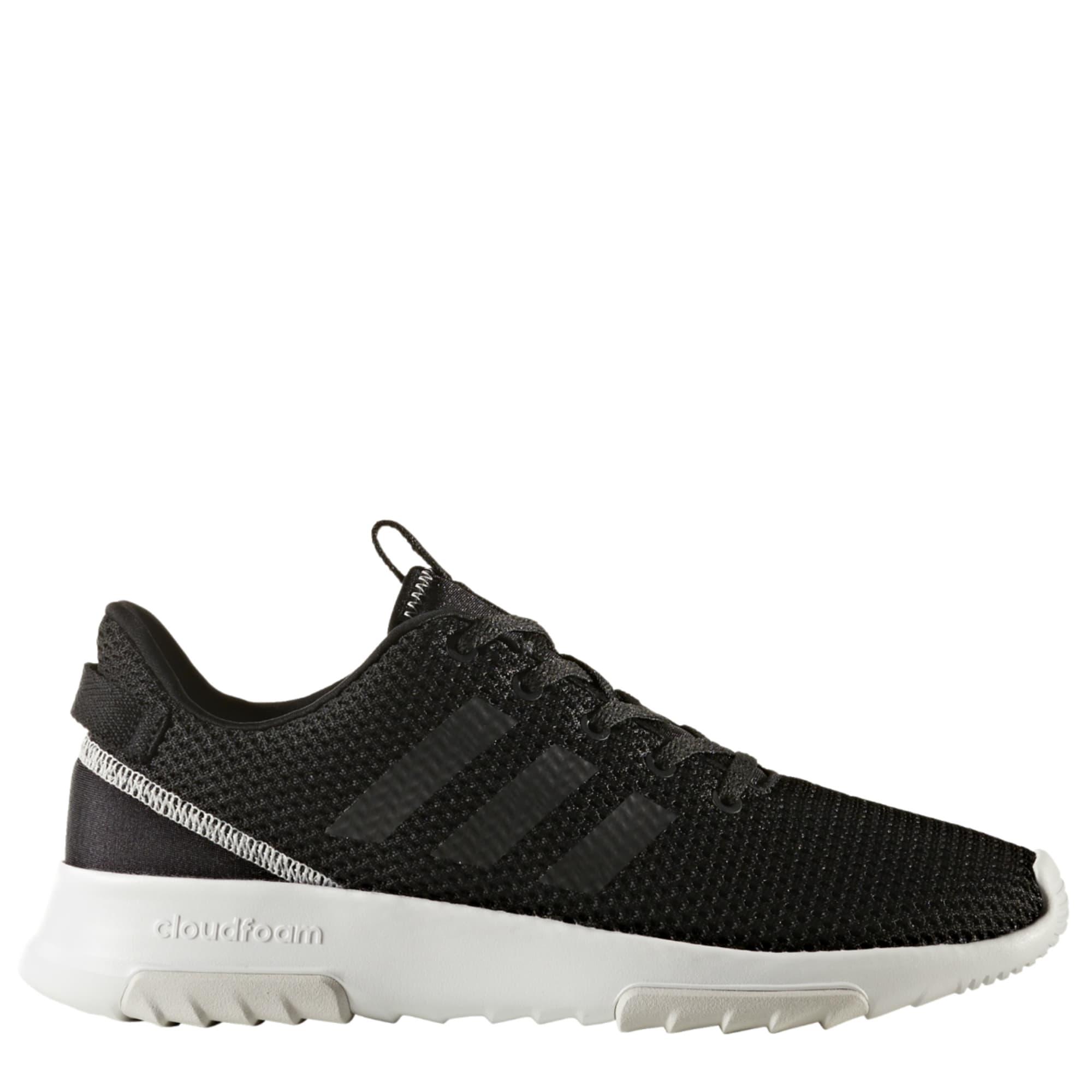 ADIDAS Women's Neo Cloudfoam Racer TR Running Shoes, Black/Grey