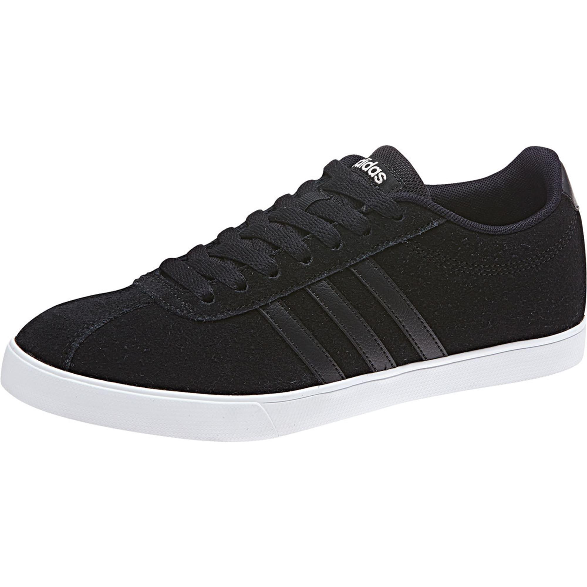 ADIDAS Women's Neo Courtset Sneakers, Black/Metallic