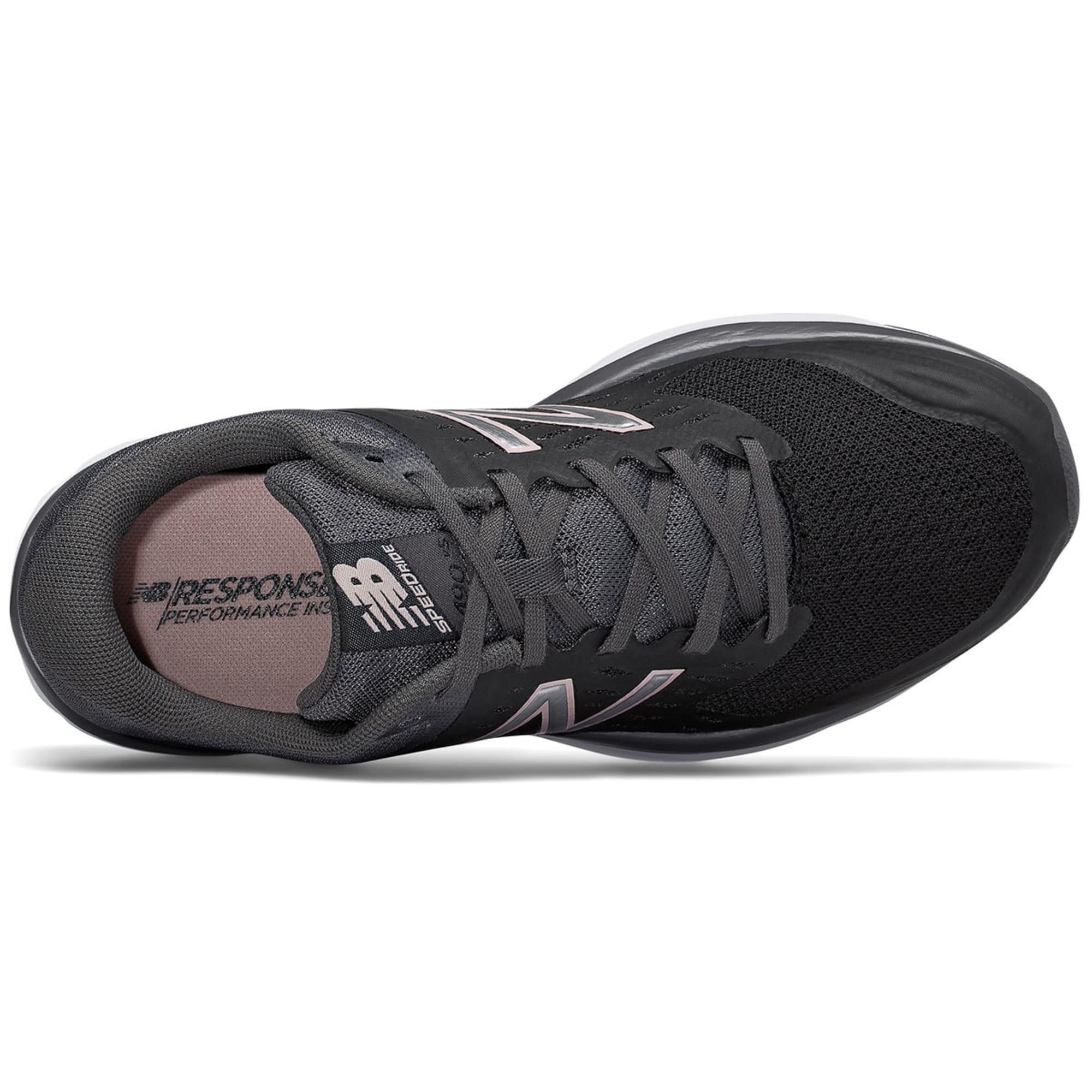 neue Produkte für 2019 echt offizieller Shop NEW BALANCE Women's 490v5 Running Shoes, Black/Magnet ...