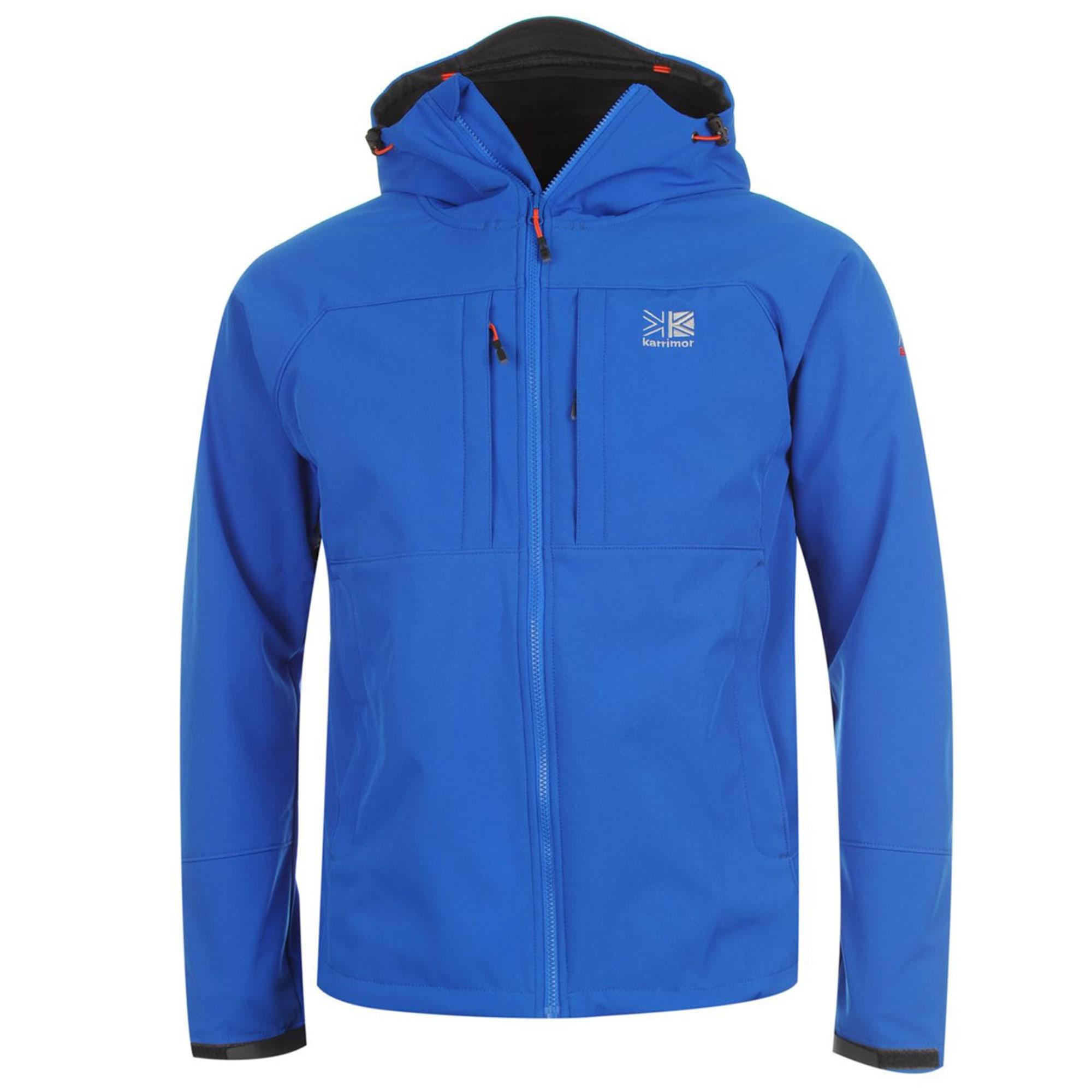 Karrimor Kids Boys Alpiniste Soft Shell Jacket Junior Softshell Coat Top Chin