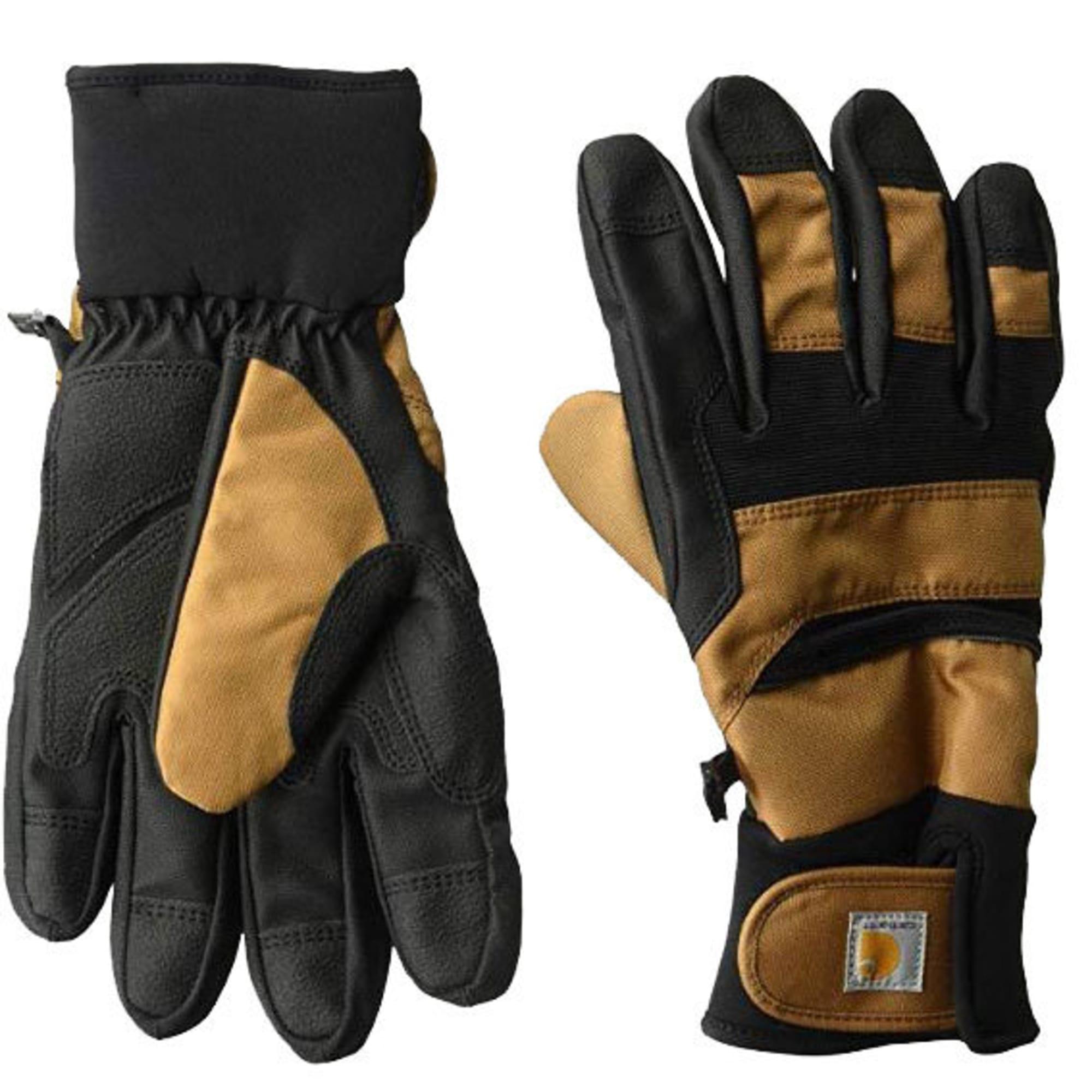 Carhartt Men/'s Insulated Flexer Gloves Waterproof Black Small NEW!
