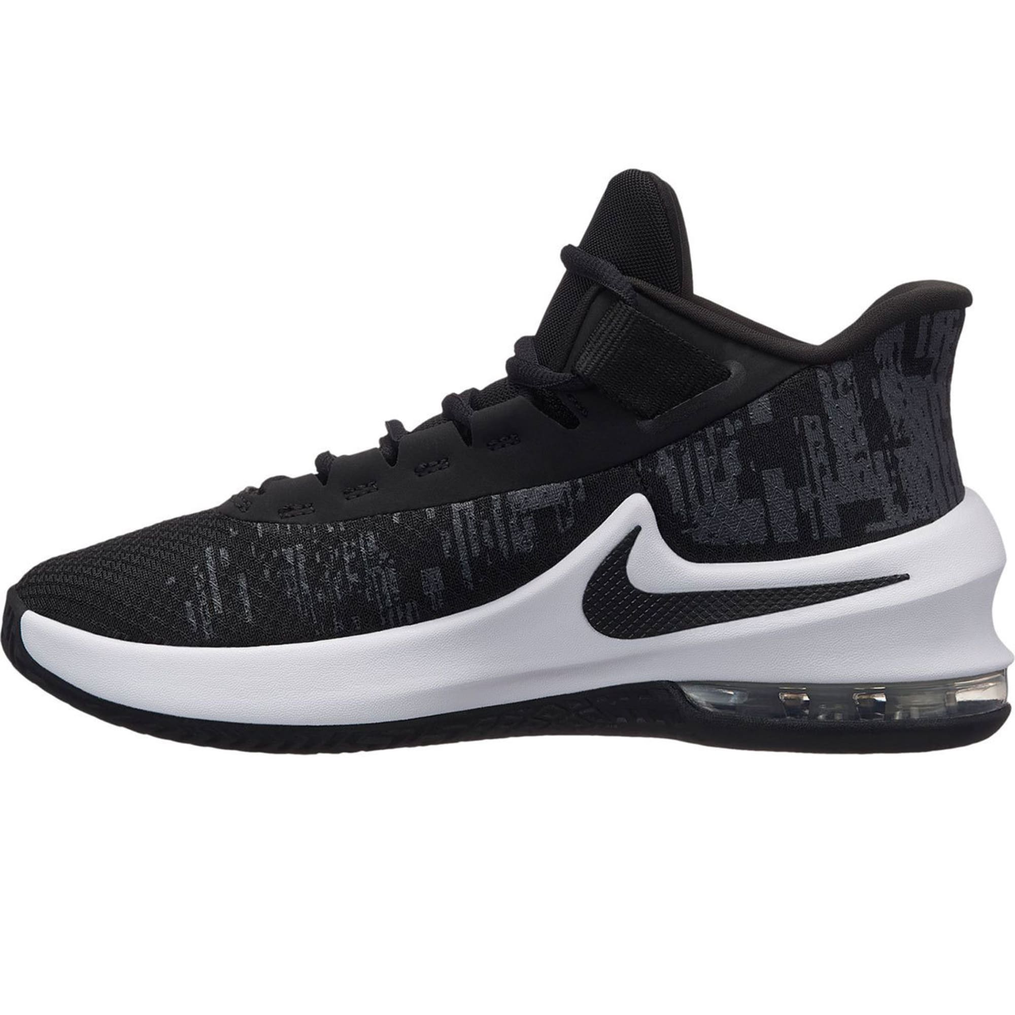 NIKE Big Boys' Grade School Air Max Infuriate 2 Mid Basketball Shoes