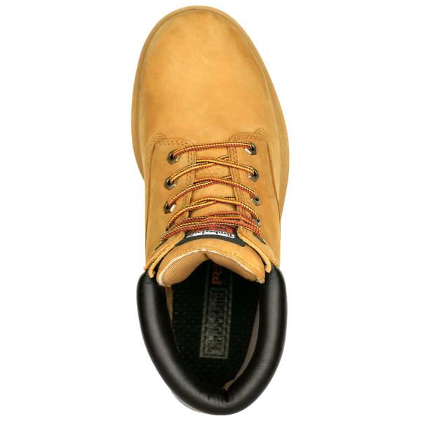 Soft Toe Waterproof Work Boots, Wide