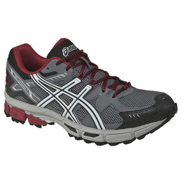3ee8d8ce ASICS Men's GEL-Kahana 7 Trail Running Shoes, Titanium - Bob's Stores