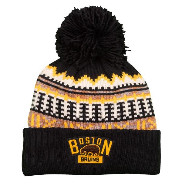 1cd6ef1c2 BOSTON BRUINS Women's 2016 Winter Classic Cuffed Pom Knit Hat ...