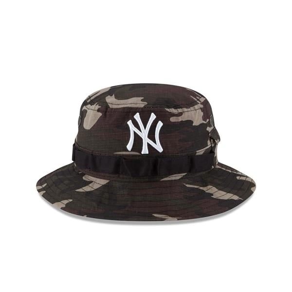 ea8a9302f NEW YORK YANKEES Rip'd Camo Bucket Hat - Bob's Stores
