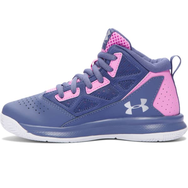 0a0323f1 UNDER ARMOUR Girls' Pre-School Jet Mid Basketball Shoes - Bob's Stores