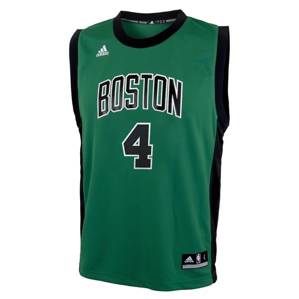 new product 9c8fb 13388 BOSTON CELTICS Boys' Isaiah Thomas #4 Road Jersey - Bob's Stores