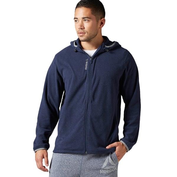 acdffe7d REEBOK Men's Light Micro-Fleece Full Zip Hoodie - Bob's Stores