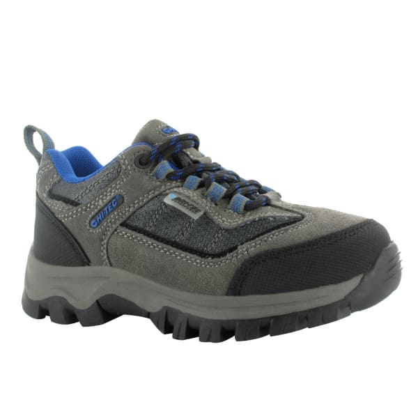 Adidas Kids Hiking Boots Green Walking Shoes Hi Tec Hillside