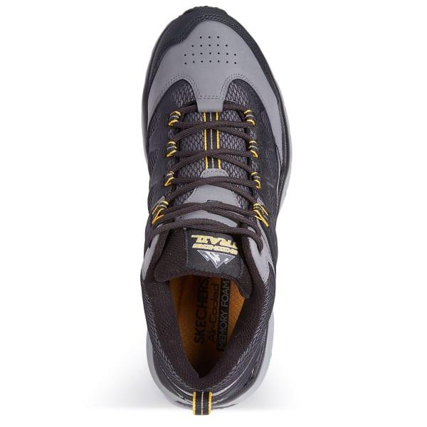 Mens 9 Skechers Shoes Trail Sport Geo Trek Sequencer Memory