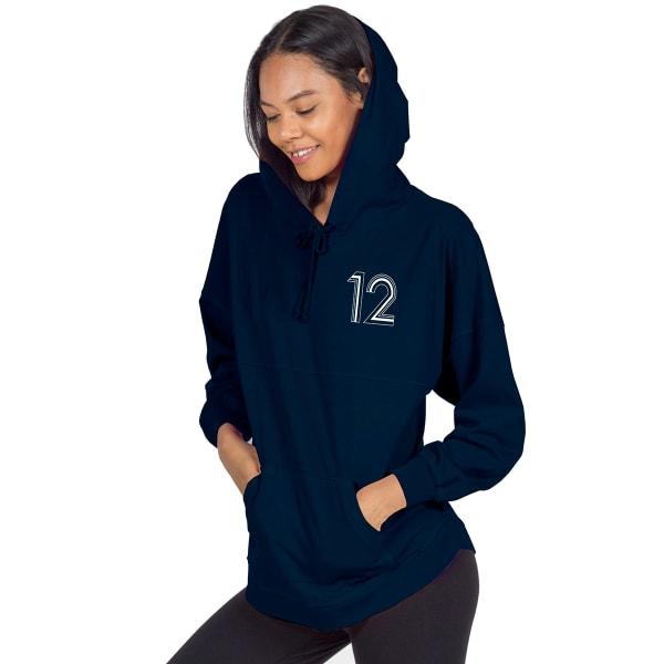 quality design ce74a 36436 NEW ENGLAND PATRIOTS Women's Brady Hooded Spirit Jersey ...