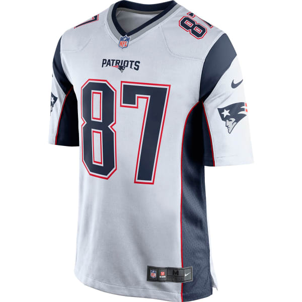 eb405f6f NIKE Men's New England Patriots Rob Gronkowski Game Jersey