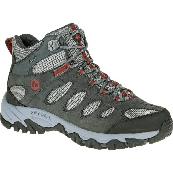 88ded1e1de9 MERRELL Men's Ridgepass Mid Gore-Tex Hiking Boots, Castle Rock ...