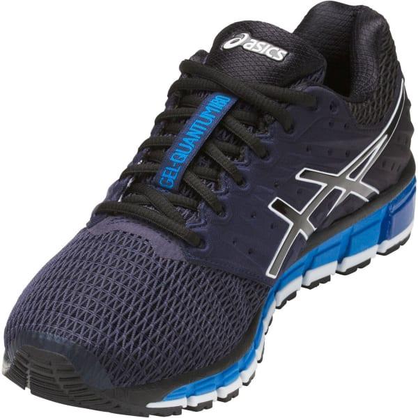 Ilustrar aves de corral marzo  ASICS Men's GEL-Quantum 180 2 Running Shoes, Black/Royal - Bob's Stores