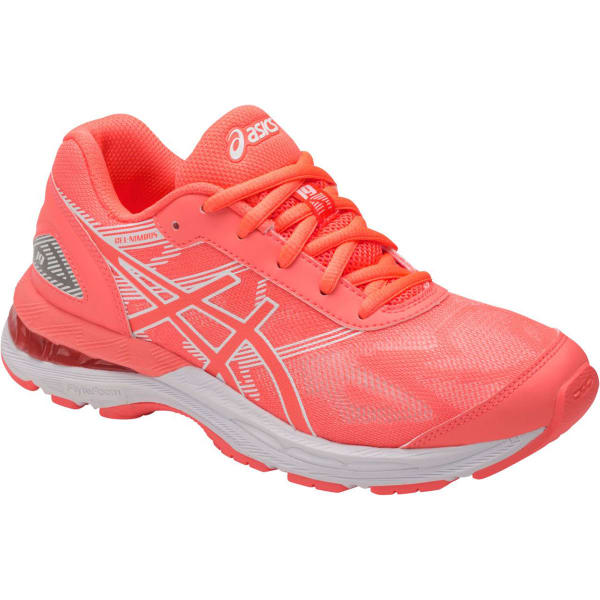 best authentic f2653 f05cf ASICS Girls' GEL-Nimbus 19 GS Running Shoes, Flash Coral ...