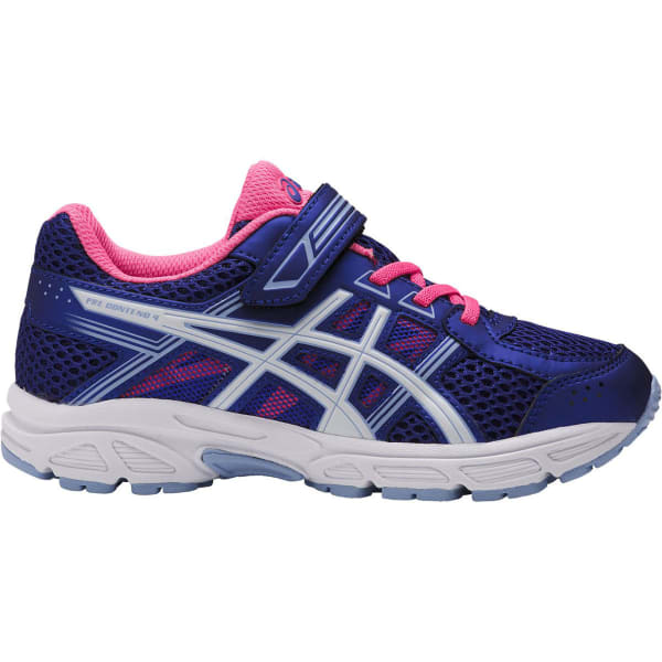 asics pre-contend 4 junior girl's running shoes queretaro
