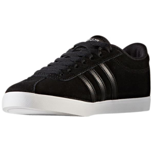 1ea52e8dd3 ADIDAS Women's Neo Courtset Sneakers, Black/Metallic