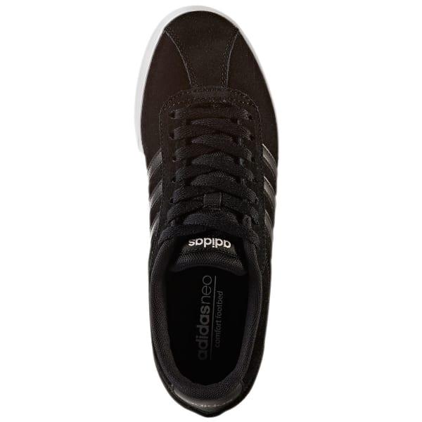 ADIDAS Women's Neo Courtset Sneakers, BlackMetallic