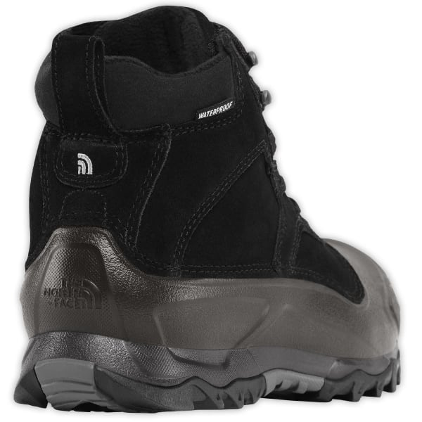 b2d69b6df THE NORTH FACE Men's Snowfuse Mid Waterproof Winter Boots, TNF Black