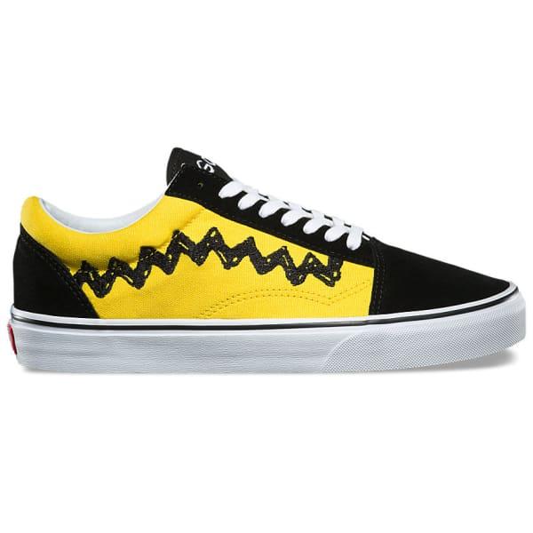 Men Charlie Peanuts Skool Brownblack Vans Shoes Skate Old