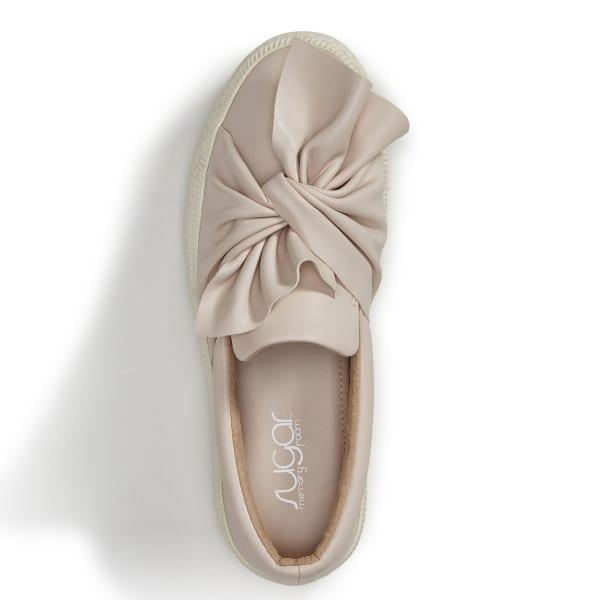SUGAR Women's Gonzo Slip On Sneakers, Blush Bob's Stores