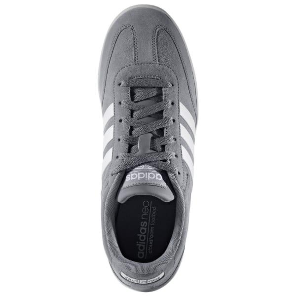 ADIDAS Men's Neo Cross Court Skate Shoes, Grey/White