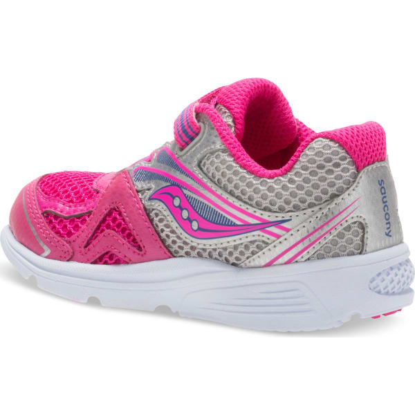 e7a1ab4087 SAUCONY Toddler Girls' Baby Ride 9 Sneakers, Wide - Bob's Stores